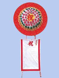 花環(紅白)